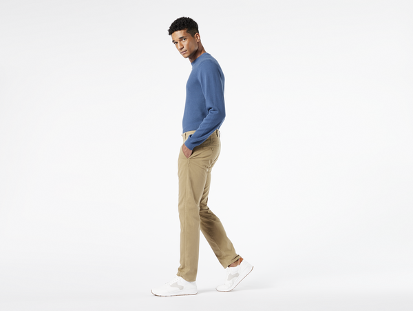 SMART SUPREME FLEX TAPERED - DOCKERS British Khaki