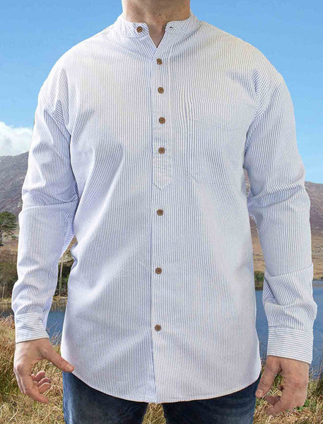 Civilian Cotton Grandfather Shirt
