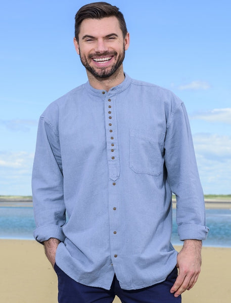 Civilian Linen Grandfather Shirt