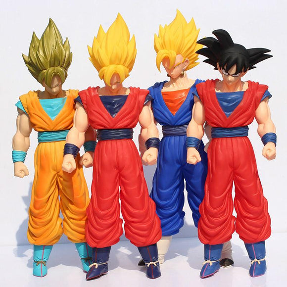 Dragon Ball Z Goku in four different forms 1' 1/6