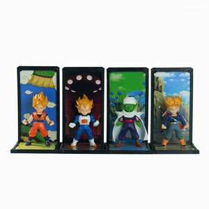 Dragon Ball Z Goko Vegeta Trunks Piccolo 4pcs/set - AnimeIkuNow