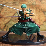 One Piece Roronoa Zoro Battle Version Toy 13cm - AnimeIkuNow