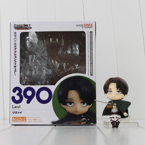 "Attack on Titan Nendoroid 390 Levi 4"" - AnimeIkuNow"