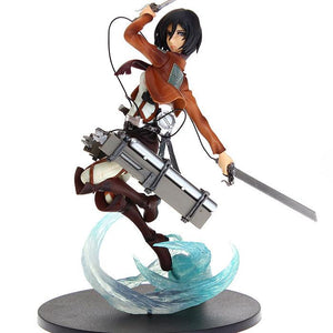 "Attack on Titan Mikasa Ackerman 9"" - AnimeIkuNow"