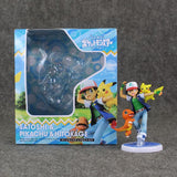 "Ash Ketchum Pikachu and Charmander 3 1/2"" - AnimeIkuNow"