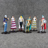 One Piece Cavendish Rebecca Trafalgar Law and Violet 6pcs/set 13~14cm - AnimeIkuNow