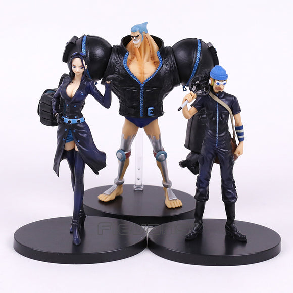 One Piece Film Gold Luffy Chopper Brook Robin Franky Usopp Nami Zoro Sanji 18cm - AnimeIkuNow