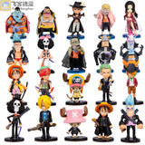 One Piece Characters 20pcs/set 8cm - AnimeIkuNow