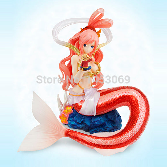 One Piece Shirahoshi With Luffy Figure 25cm - AnimeIkuNow