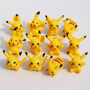 Pokemon Pikachu 12pcs/set 5cm Figures - AnimeIkuNow