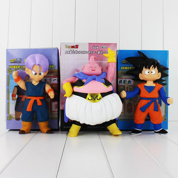 Dragon Ball Z Majin Buu, Goten and Kid Trunks - AnimeIkuNow