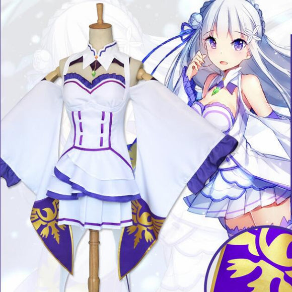 Re Zero Emilia Cosplay - AnimeIkuNow