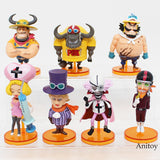 One Piece Chibi Figures 6-8cm - AnimeIkuNow