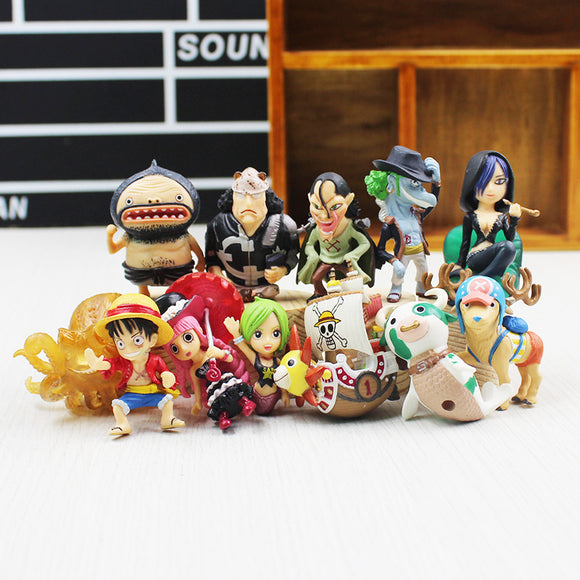 One Piece Characters from Fishman Island Figures 12pcs/set 5cm - AnimeIkuNow