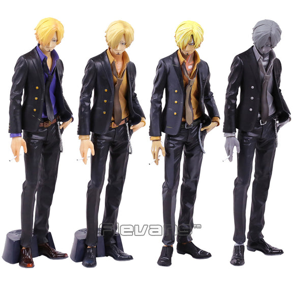 One Piece SMSP Super Master Stars Piece Sanji 4 Colors 28cm - AnimeIkuNow