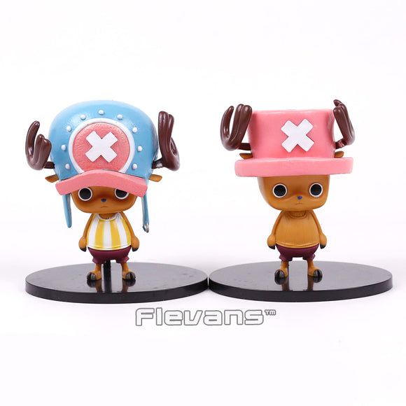 One Piece Tony Tony Chopper PVC 2 Styles Pre-Time Skip and Post-Time Skip 12cm - AnimeIkuNow