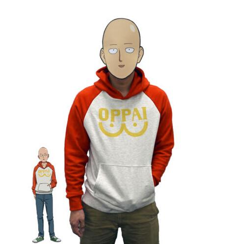 One Punch Man Hooded Sweatshirts - AnimeIkuNow