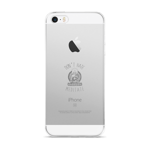 Coque de protection iPhone - Don't hate, Meditate ! - Yogaste