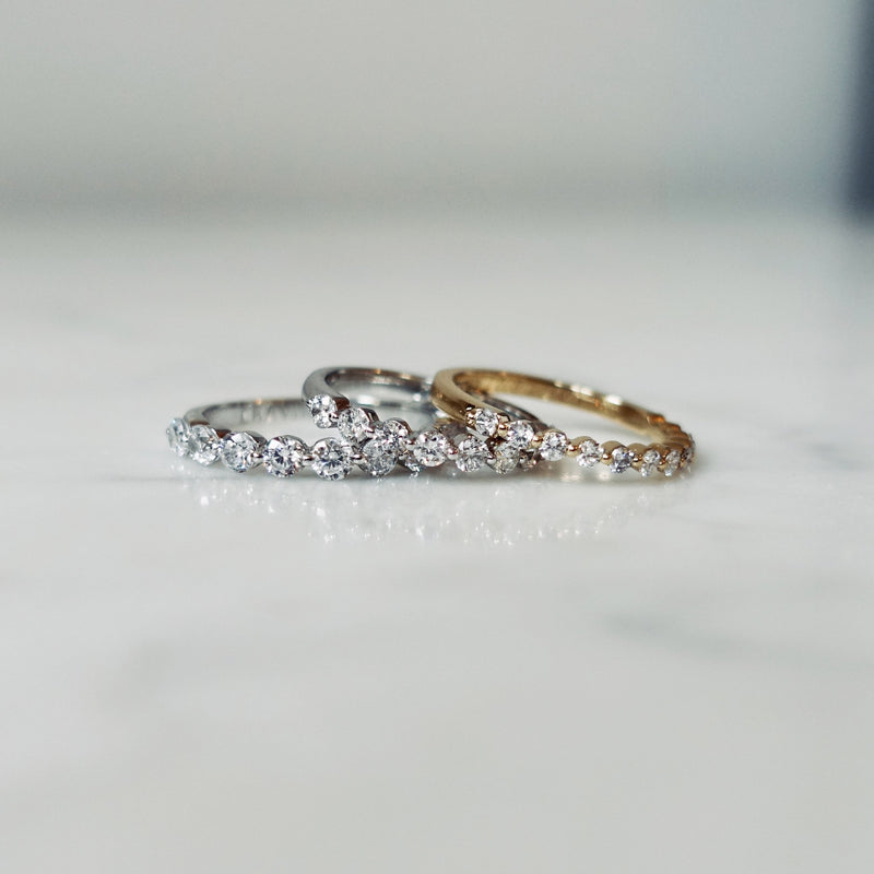 Bubble Diamond Ring 0,35ct