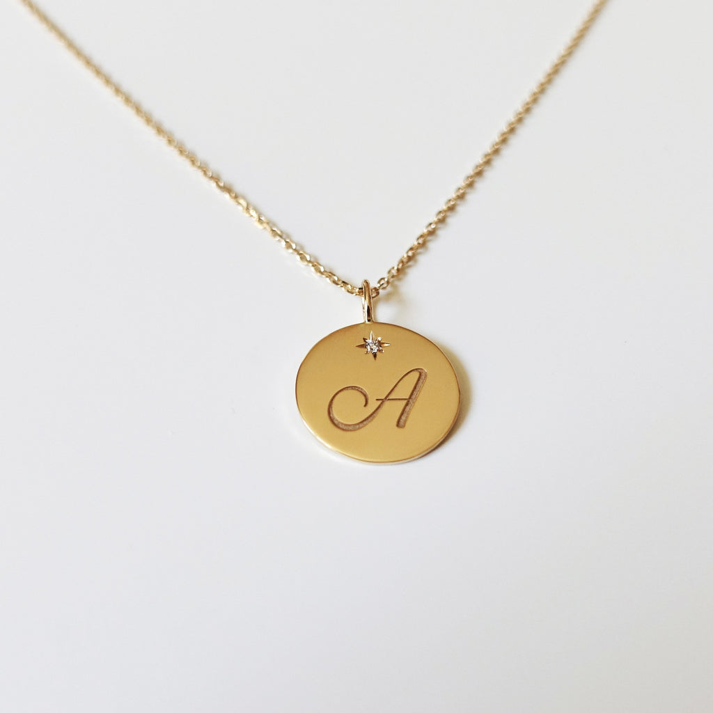 Charm Letter Necklace