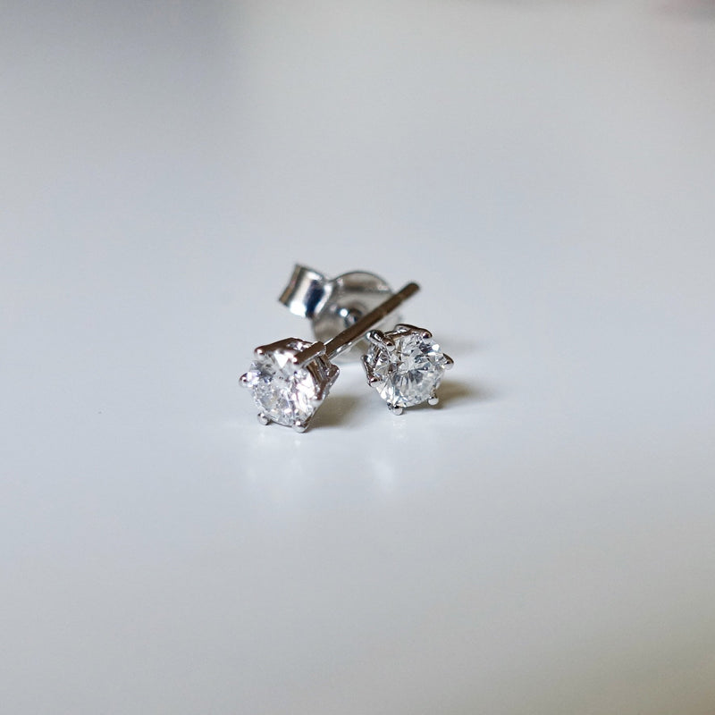 Solitaire Earrings 0,4ct