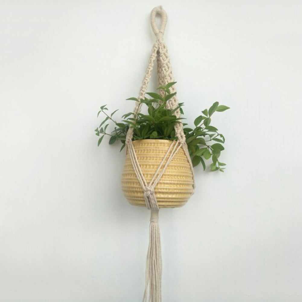 suspension plante macrame