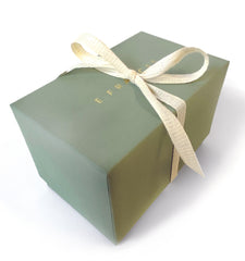 Green Gift Box for Little Notes Holder