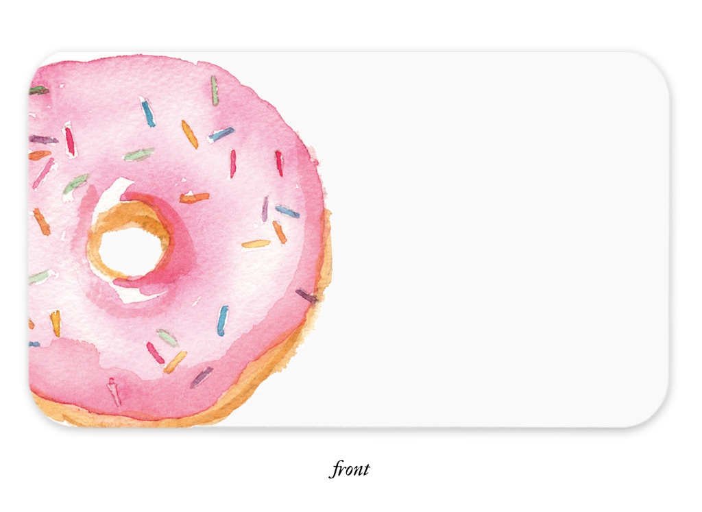 Donut Day Little Note