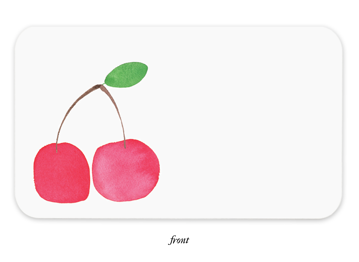 Pop Art Cherries Little Notes®