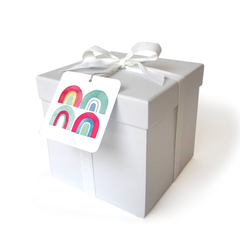 Rainbow Quartet Gift Tags