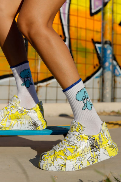 Stylish Printed Sneakers 1