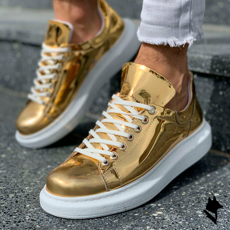 TOP GOLD SNEAKERS