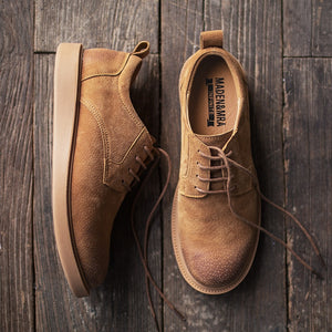 Brown Low-top Shoes