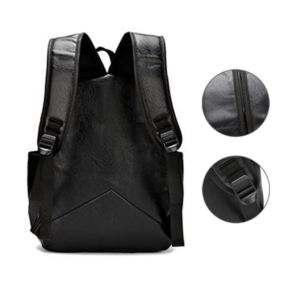 Leather Casual Bagpack