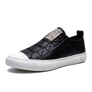 Genuine Leather Sneakers