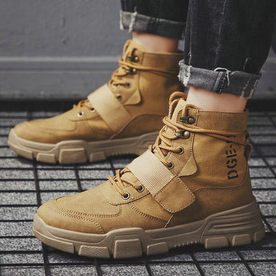 Lace Up  Men's Boots