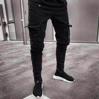 Long Ripped Jeans