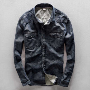 Denim Shirts Men