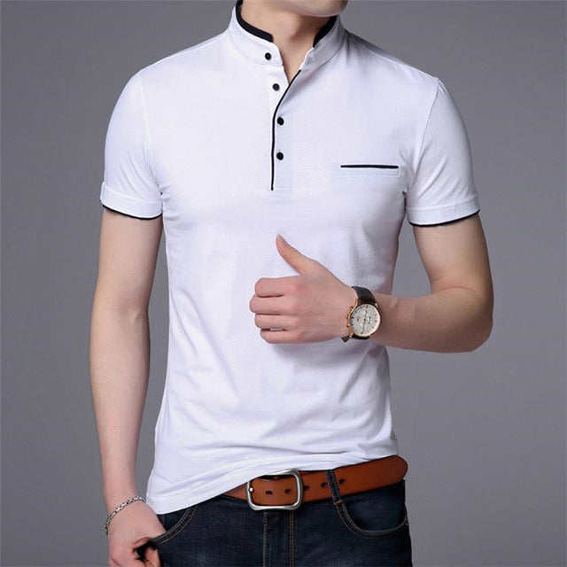 Summer Collar Short Sleeve