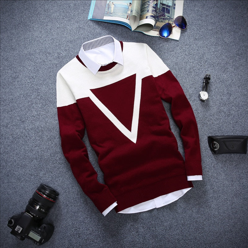 Long-sleeved Pullover