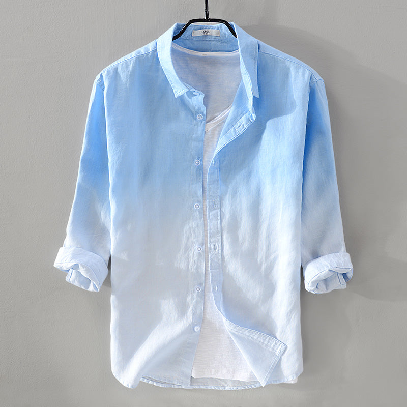 Summer Linen Men Shirt
