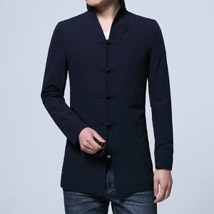 Long-sleeved Suit Jacket