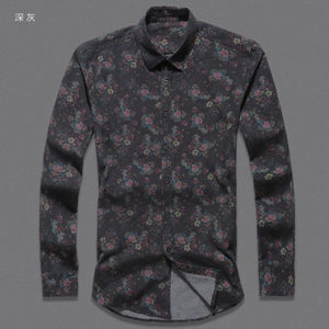 Flower Printed Shirt