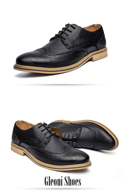 Luxury Leather Brogue