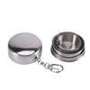 Premium Stainless Steel Collapsible Travel Cups