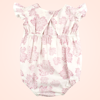baby romper made from organic cotton