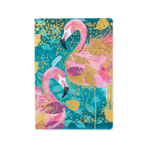 Opium Notebook - Flamingo