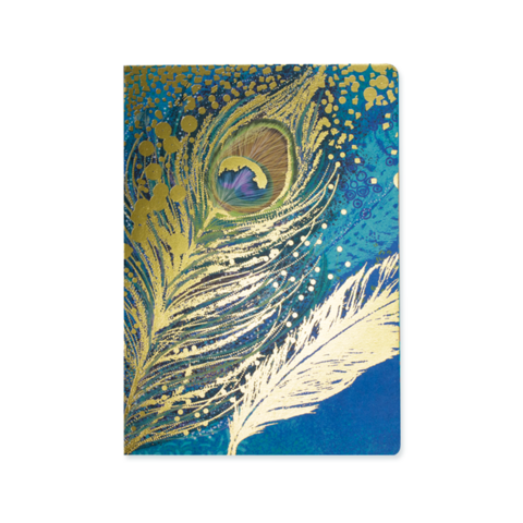 Opium Notebook - Peacock