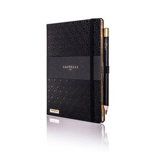 Castelli Honeycomb Black Notebook