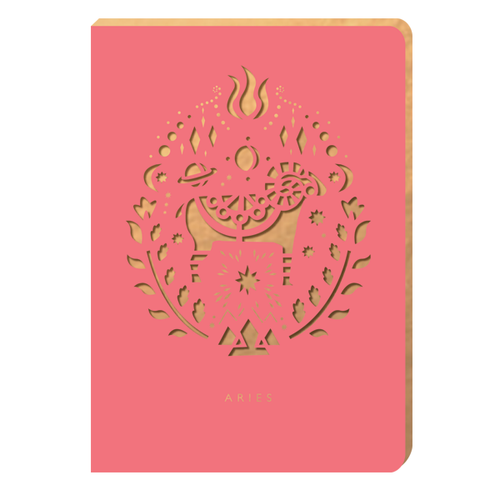 Aries Notebook - Zodiac Collection